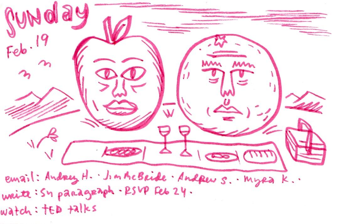 Doodle list