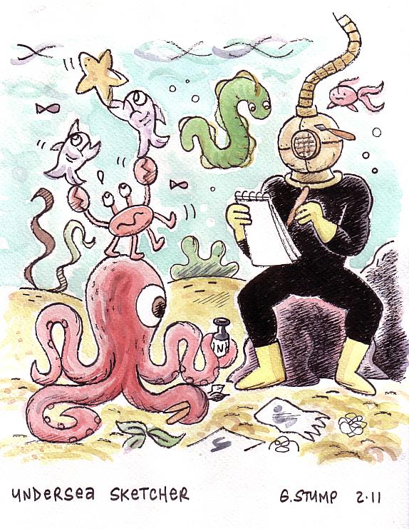 Undersea Sketcher