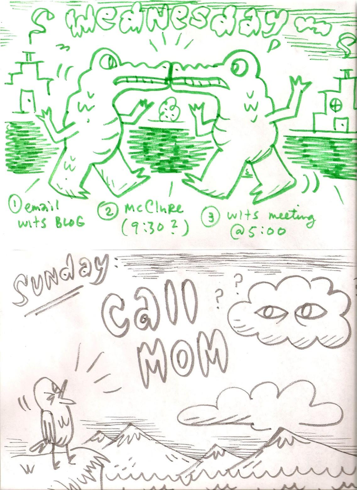 Doodle lists