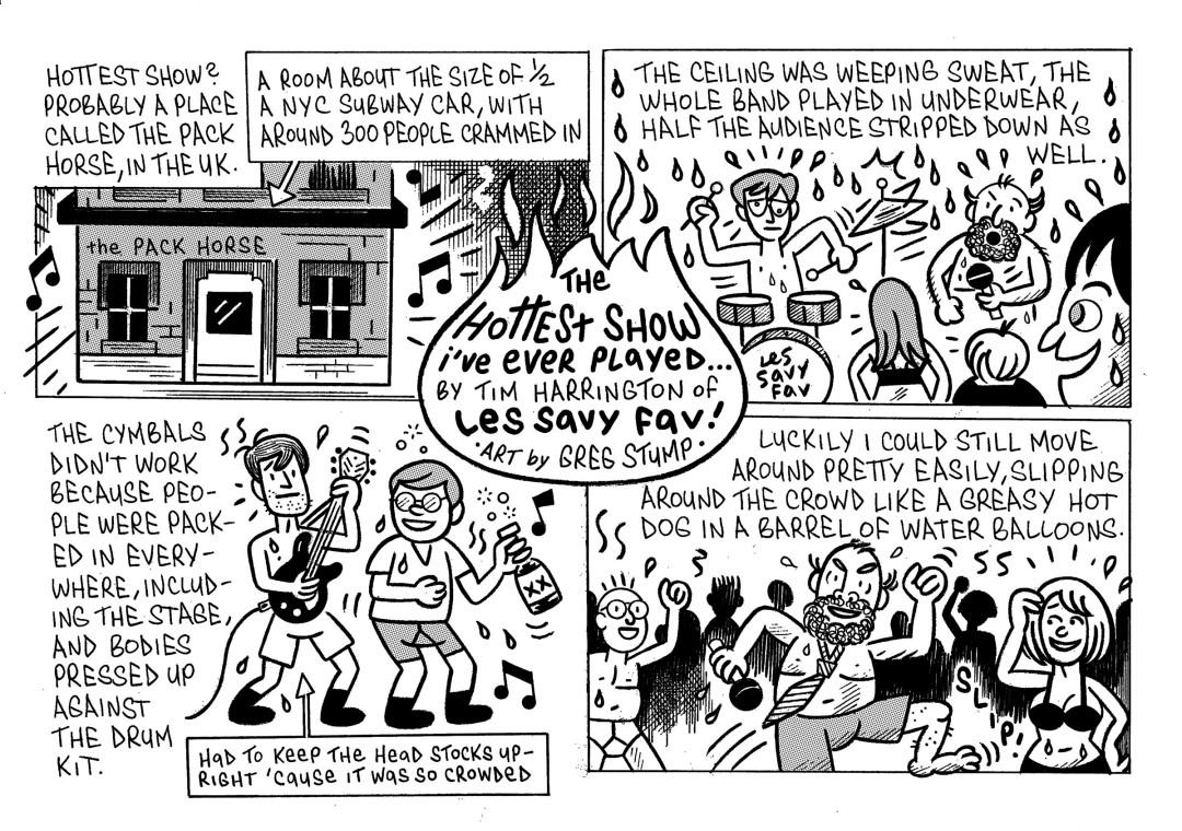 Les Savy Fav comic