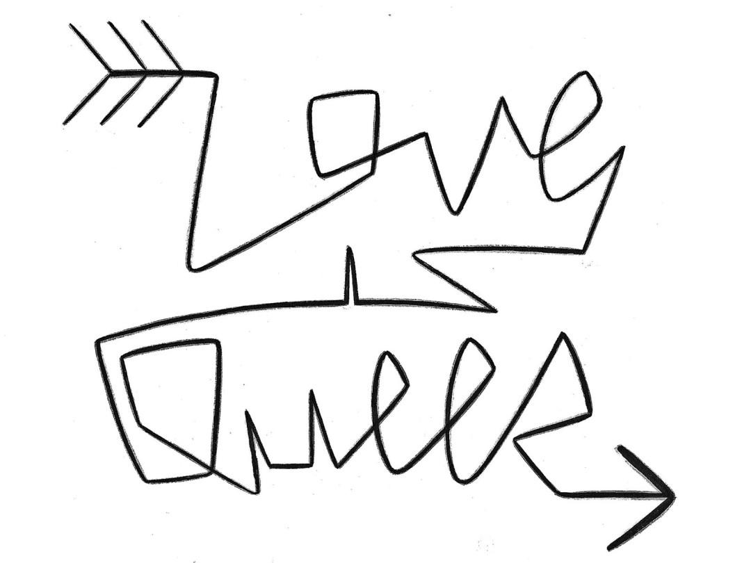 Love is Queer logo